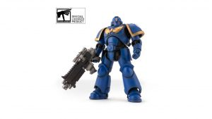 Bandai is Making an Official Space Marine Figure