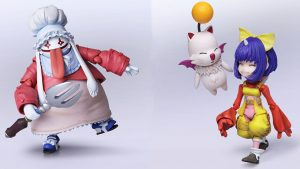 Final Fantasy IX Bring Arts Figurines Quina and Eiko Announced