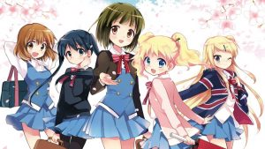 Kin-iro Mosaic Manga Ends in Four Chapters