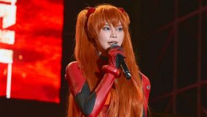 Taiwanese Politician Campaigned as Evangelion's Asuka