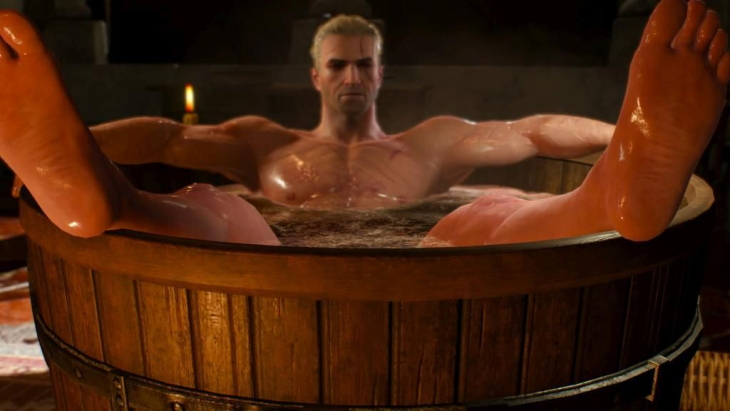 The WItcher Bathtub