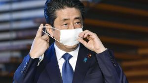 Japanese Prime Minister Shinzo Abe Declares State of Emergency