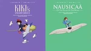 Kiki's Delivery Service and Nausicaa of the Valley of the Wind Steelbooks Coming August 25