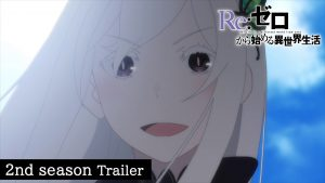 Re:Zero Anime Season 2 Premieres July 8th, New Trailer