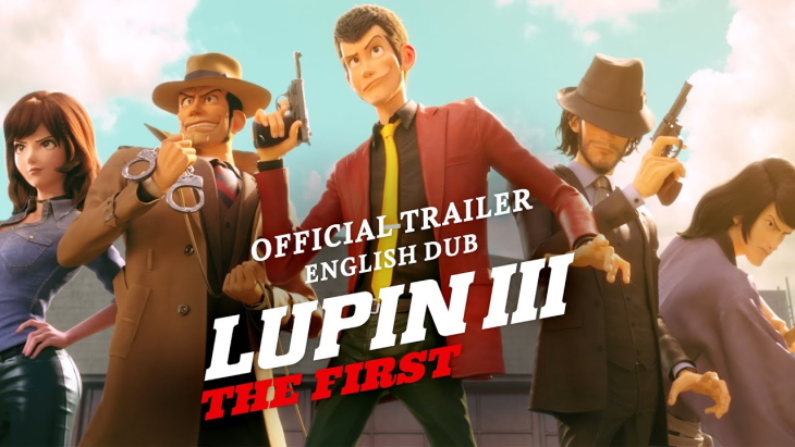 Lupin III 3rd The First English Dub Trailer