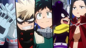 Class 1-A and 1-B Face Off in My Hero Academia Season 5