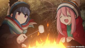 Second Volume of Laid-Back Camp Season 2 Home Media to Include Bonus Animation